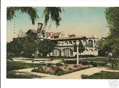 CHANDLER ARIZONA AZ SAN MARCOS HOTEL HANDCOLORED 1947