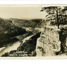 RPPC ANSTED WEST VIRGINIA WV LOVER'S LEAP RTE 60- 1931