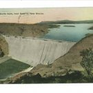 SOCORRO NEW MEXICO ELEPHANT BUTTE DAM HAND COLORED 1930