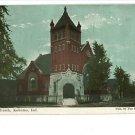 KOKOMO INDIANA IN U.B. CHURCH 1909 POSTCARD
