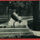 ANN ARBOR MICHIGAN MI CANNON SPANISH AMER WAR POSTCARD