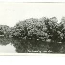 RPPC LOWELL MICHIGAN MI THE GRAND RIVER RP POSTCARD