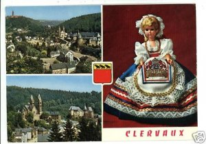 CLERVAUX LUXEMBOURG  DOLL  1977 POSTCARD