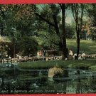 COLUMBUS OHIO OH MIRROR LAKE & SPRING OSU 1913 POSTCARD