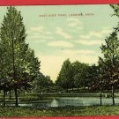 LANSING MICHIGAN MI EAST SIDE PARK  POSTCARD