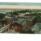 Biddeford ME MAINE Bird's Eye View Vintage Postcard