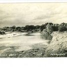 PERRY IA RIVER VISTA 1941 REAL PHOTO POSTCARD
