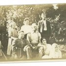 RPPC THREE OR FOUR GENERATIONS FAMILY  RP POSTCARD