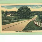 OSCEOLA ARKANSAS  GREETINGS FROM  POSTCARD