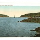 DIGBY GAP NOVA SCOTIA CANADA SAILBOAT POSTCARD