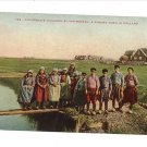 EILAND MARKEN HOLLAND FISHERMEN'S CHILDREN POSTCARD