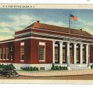 SALEM NEW JERSEY U.S. POST OFFICE POSTCARD 1941