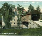 READING PA Pennsylvania COVERED BRIDGE BERKLEY POSTCARD