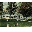Hot Springs VA Virginia  Club House 1913  Postcard