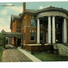 ASHTABULA OHIO ELKS TEMPLE BPOE VINTAGE POSTCARD