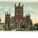 TIPTON IA IOWA M.E. CHURCH VINTAGE POSTCARD