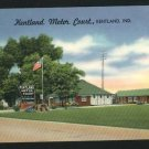 KENTLAND INDIANA IN KENTLAND MOTOR COURT  POSTCARD