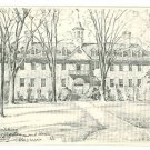WILLIAMSBURG VA VIRGINIA WREN BUILDING OVERLY  POSTCARD