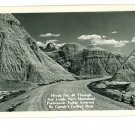 RPPC BADLANDS SOUTH DAKOTA CANEDY'S CAMERA SHOP HIGHWAY