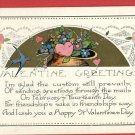 VALENTINE GREETINGS BLUEBIRDS FEBRUARY 14  POSTCARD