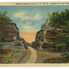 WELCH WV WEST VIRGINIA ROUTE 52 GRAFTON 1957 POSTCARD