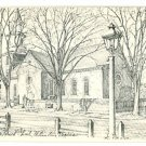 WILLIAMSBURG VA VIRGINIA BRUTON PARISH OVERLY  POSTCARD