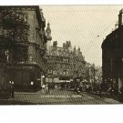 CHARING CROSS GLASGOW SCOTLAND STREET CAR POSTCARD