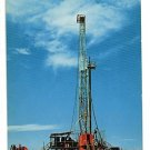 OIL DRILLING RIG NEW MEXICO TEXAS 1969 SCHAAF  POSTCARD