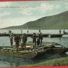 TAFT FOR ERECTING BIRAGO TRESTLE MILITARY   POSTCARD