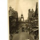 Chester England East Gate Vintage Postcard 1937 UK
