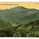 CAMEL'S HUMP GREEN MOUNTAINS VERMONT VT POSTCARD