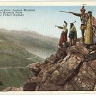 DENVER CO WILDCAT POINT VICTORY HWY INDIANS  POSTCARD