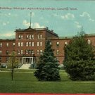 LANSING MICHIGAN WOMAN'S BLDG AGRICULTURAL '12 POSTCARD