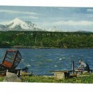 COPPER CENTER ALASKA FISH WHEEL KLUTINA RIVER 1962