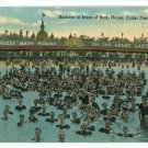 CEDAR POINT OHIO OH BATH HOUSE BATHERS SWIM  POSTCARD
