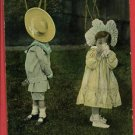 BOY GIRL LOVERS QUARREL MacFARLANE 1916 POSTCARD