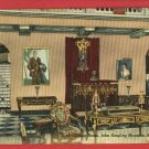 SARASTOA FL FLORIDA LIVING RM RINGLING MANSION POSTCARD