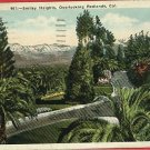 REDLANDS CALIFORNIA SMILEY HEIGHTS 1940   POSTCARD