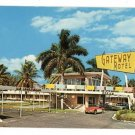 FT LAUDERDALE FL FLORIDA GATEWAY MOTEL  POSTCARD