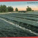 OMAHA NE NEBRASKA SETTLING BASINS  POSTCARD