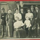 RPPC FAMILY WITH GRANDPA GRANDMA BABY 3 GENERATIONS RP