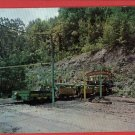 PATTON PA SELDOM SEEN VALLEY MINE TRAIN  POSTCARD