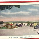 EARL GREY TERRACE QUEBEC CANADA BUS OLD CARS POSTCARD