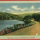 BARNESTON BARNSTON NEBRASKA GREETINGS FROM  POSTCARD