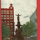 CINCINNATI OH OHIO TYLER DAVIDSON FOUNTAIN POSTCARD