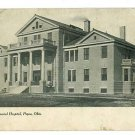 PIQUA OHIO OH BALL MEMORIAL HOSPITAL UND BACK POSTCARD