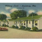 LEWISBURG OHIO MIDWAY COURT US 40  POSTCARD