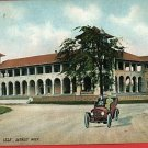 DETROIT MICHIGAN MI CASINO BELLE ISLE OLD CAR POSTCARD
