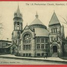 MANSFIELD OHIO OH 1TH PRESBYTERIAN CHURCH 1909 POSTCARD