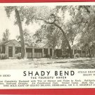 GRAND ISLAND NEBRASKA NE  SHADY BEND TOURIST POSTCARD
